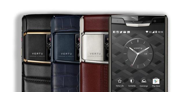 điện thoại Vertu, điện thoại siêu sang, Vertu,