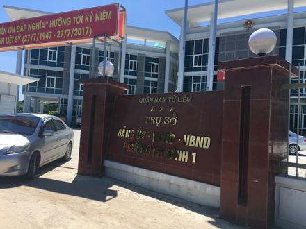 Hà Nội, bí thư phường, Mỹ Đình 1, tổ chức đánh bạc, ghi lô đề