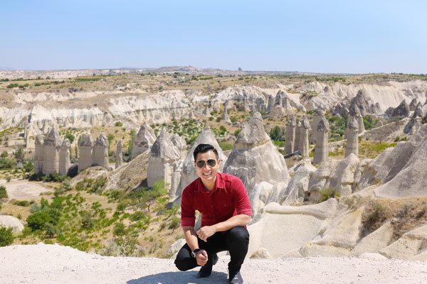 MC Nguyên Khang, du lịch Thổ Nhĩ Kỳ