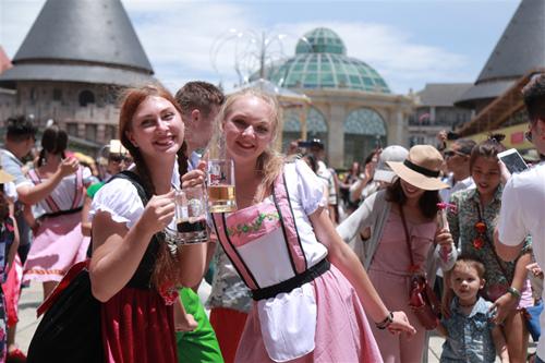Sôi động lễ hội bia B'estival Bà Nà Hills