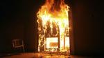 Không cho tiền trả nợ, quý tử đốt nhà, chém công an