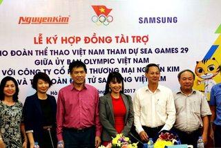"""Đoàn TTVN nhận thêm """"doping"""" trước SEA Games 29"""