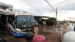 Xe khách tông liên hoàn trên quốc lộ, nhiều người bị thương