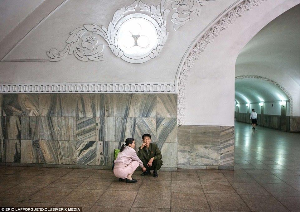 Triều Tiên, Mỹ, chiến tranh hạt nhân, tàu điện ngầm