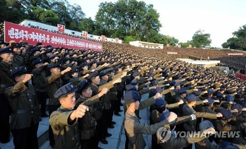 Triều Tiên, Mỹ, tuần hành, lệnh trừng phạt, LHQ