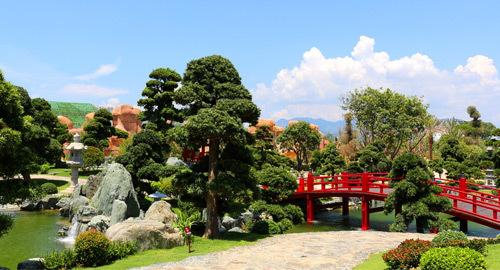 Công viên thực vật độc đáo ở Vinpearl Land Nha Trang