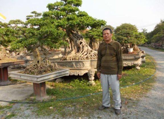 chơi ngông, đại gia Việt, nuôi thú dữ, lăng mộ, Dũng lò vôi, cây cảnh, dát vàng