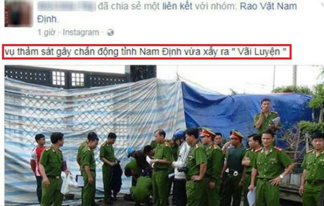 bịa đặt, thảm sát, Nam Định