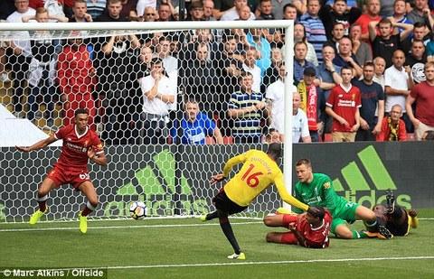Watford 2-2 Liverpool