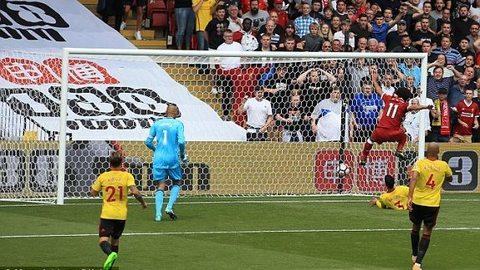 Watford 2-3 Liverpool Salah ghi bàn