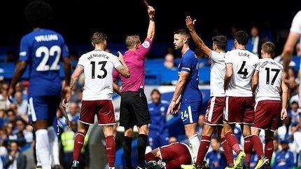 Video bàn thắng Chelsea 2-3 Burnley