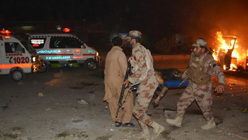 Pakistan, IS, nổ lớn, thương vong