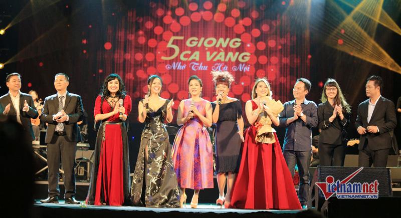 Hồng Nhung, Mỹ Tâm, Thanh Lam, Mỹ Linh, Hà Trần