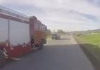 Tài xế ô tô cản đường xe cứu hỏa hàng kilomet gây bức xúc