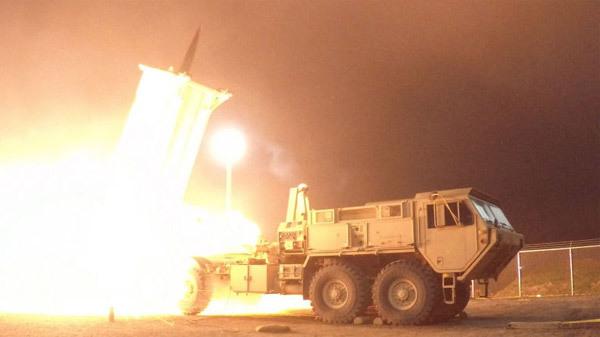 Quân đội Mỹ, đảo Guam, khủng hoảng Triều Tiên