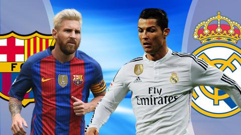 Barca, Real Madrid, Siêu cúp TBN, Siêu kinh điển, El Clasico