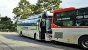 Lâm Đồng: Xe 45 chỗ mất thắng trên đèo Bảo Lộc