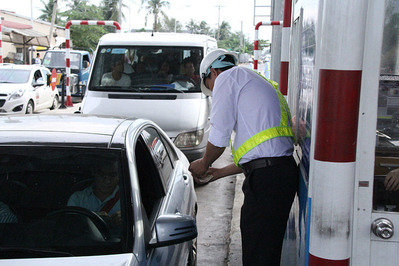 Trạm thu phí Cai Lậy, Tiền Giang, trạm thu phí, trạm thu phí BOT,