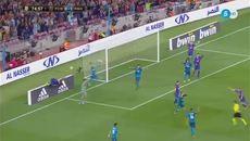 """Suarez diễn sâu giúp Messi """"ăn"""" 11m"""