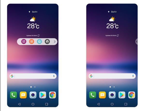 Cận cảnh 'thanh nổi' mới lạ thay thế màn hình phụ ở LG V30