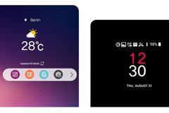 """Cận cảnh """"thanh nổi"""" mới lạ thay thế màn hình phụ ở LG V30"""