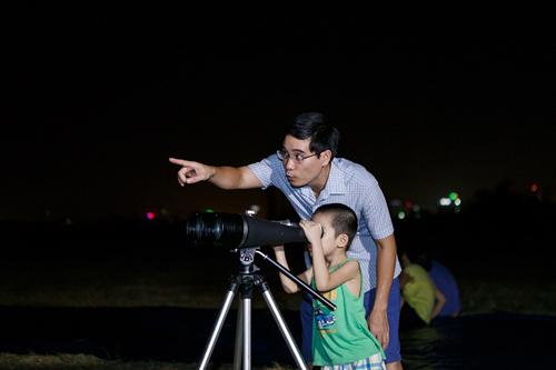 Hà Nội: ngắm mưa sao băng ở Công viên Thiên văn học