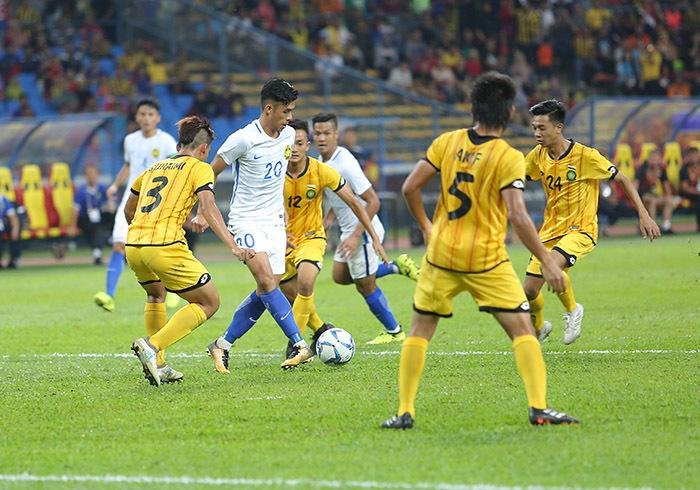 SEA Games 29: U22 Malaysia thắng nhọc U22 Brunei