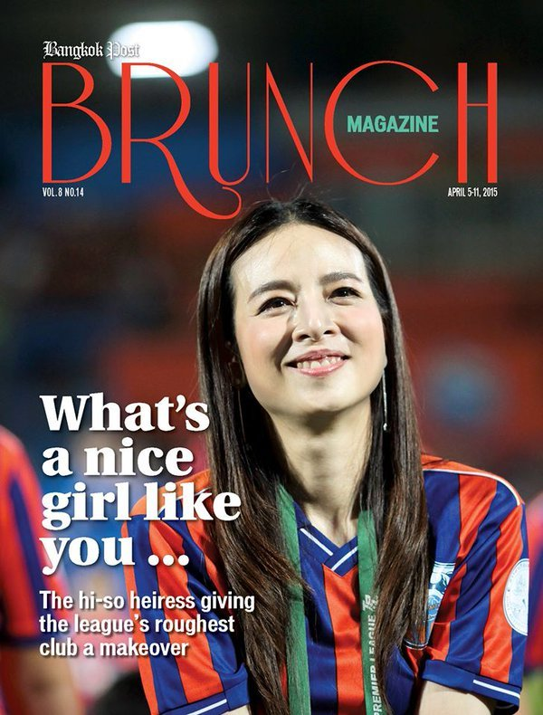 Nhan sắc nữ tỷ phú làm trưởng đoàn bóng đá nữ Thái Lan
