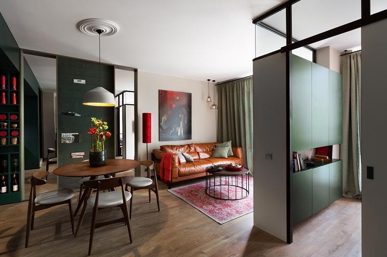 nhà đẹp, căn hộ 40m2, trang trí nhà, nội thất