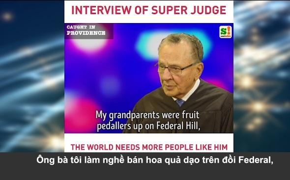 Câu chuyện nhân văn của vị thẩm phán được yêu mến nhất nước Mỹ