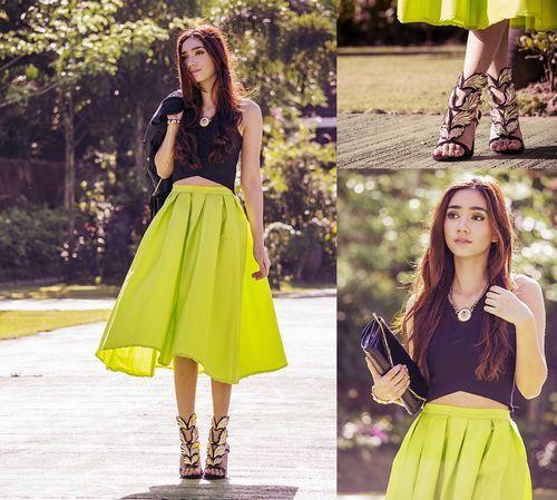 Học cách phối thời trang công sở cùng màu vàng chanh