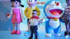 Sao nhí háo hức dự lễ ra mắt loạt phim hoạt hình Doraemon