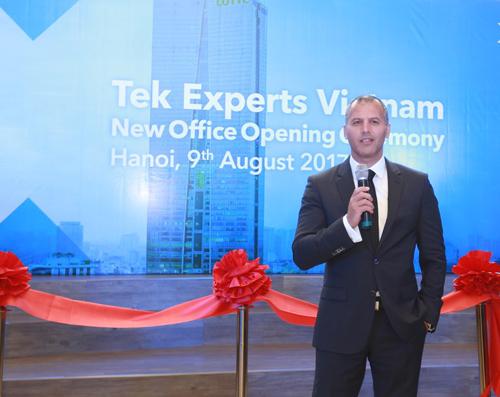 Chủ tịch Tek Experts: 'Chọn VN để thu hút nhân lực CNTT'