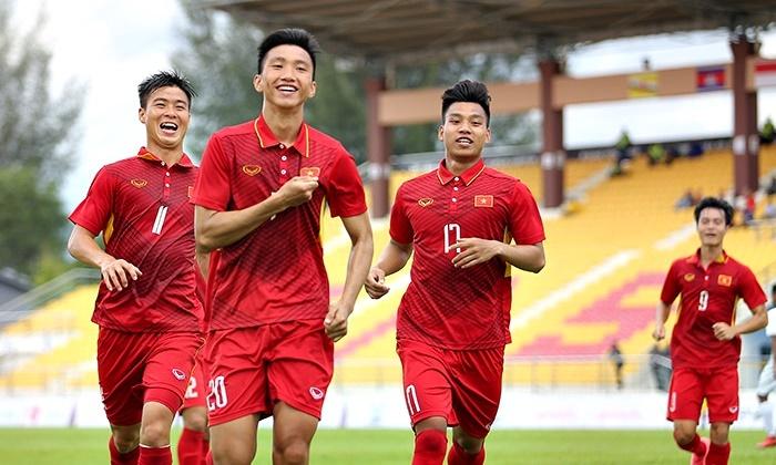 Công thủ đều bùng nổ, U22 Việt Nam thắng to trận ra quân SEA Games
