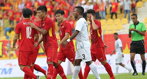 Video bàn thắng U22 Việt Nam vs Đông Timor