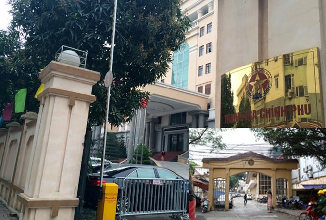 đất vàng Hà Nội, di dời trụ sở bộ ngành, Thanh tra Chính phủ