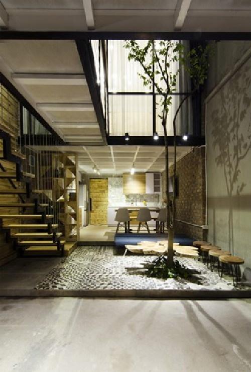 nhà đẹp, xây nhà 500 triệu ở Hà Nội, nội thất