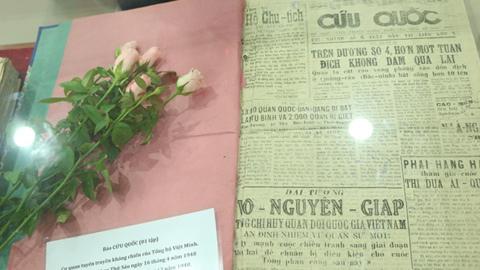 Những số báo đặc biệt tại bảo tàng Báo chí Việt Nam