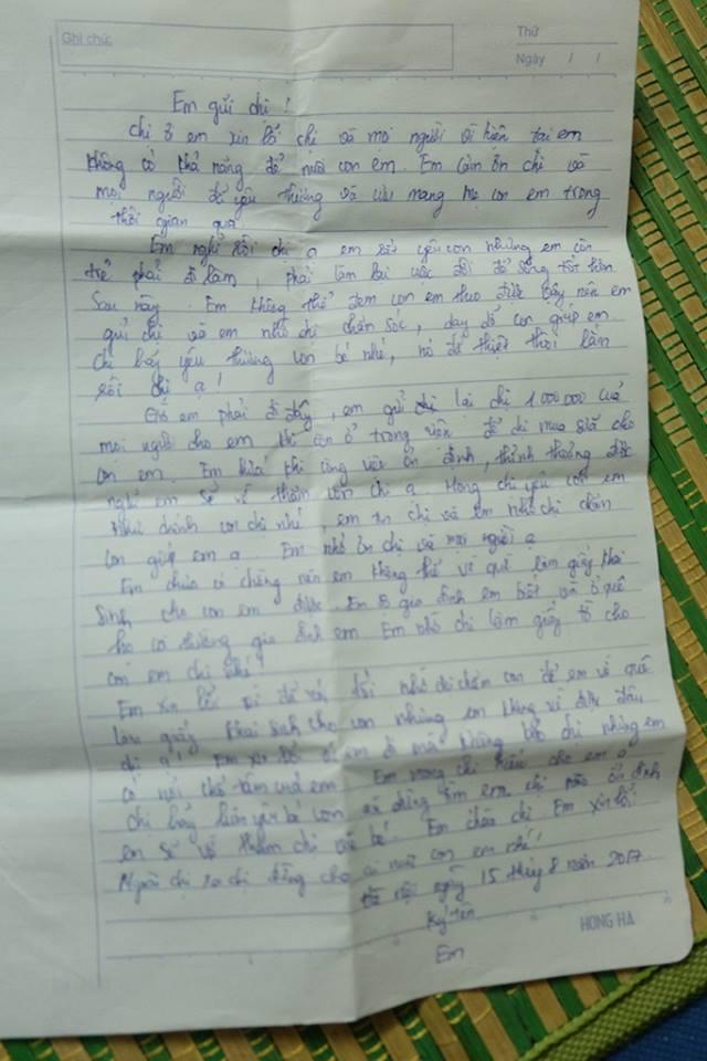 Bé gái 15 ngày tuổi bị mẹ bỏ rơi kèm lá thư
