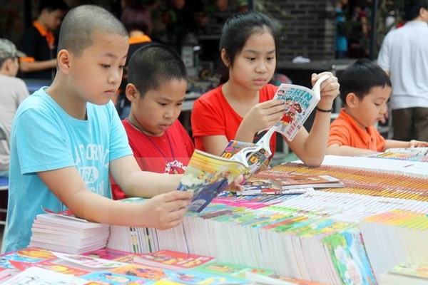 Gần 70 nhà xuất bản tham gia Hội chợ sách Quốc tế