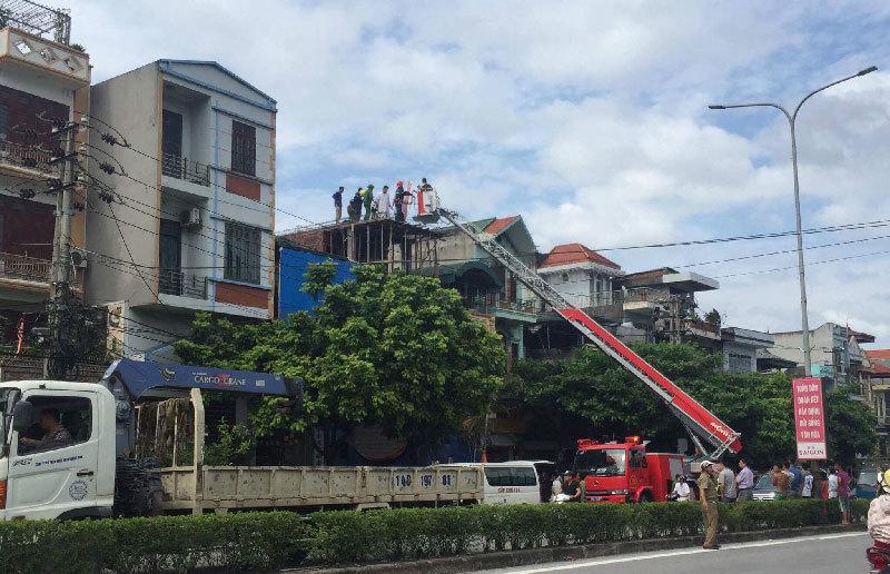 tai nạn lao động, điện giật