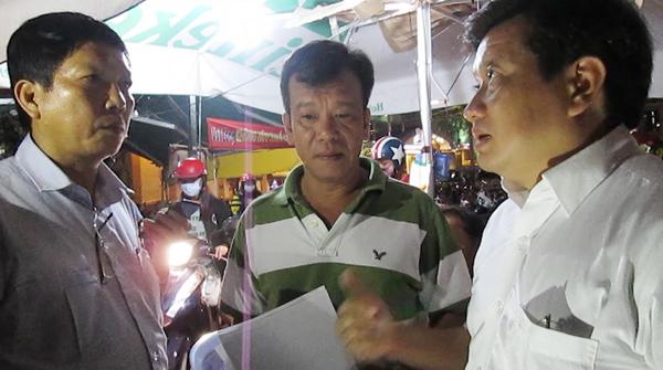 Ông Đoàn Ngọc Hải 'trảm' bãi giữ xe không phép ở trung tâm Sài Gòn
