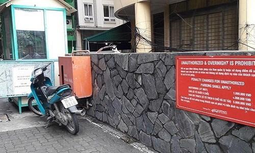 Hốt hoảng vì mất 1 triệu gửi xe máy qua đêm tại khách sạn Fortuna