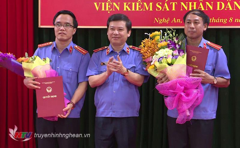 bổ nhiệm, nhân sự, Nghệ An, Bình Phước, Đà Nẵng