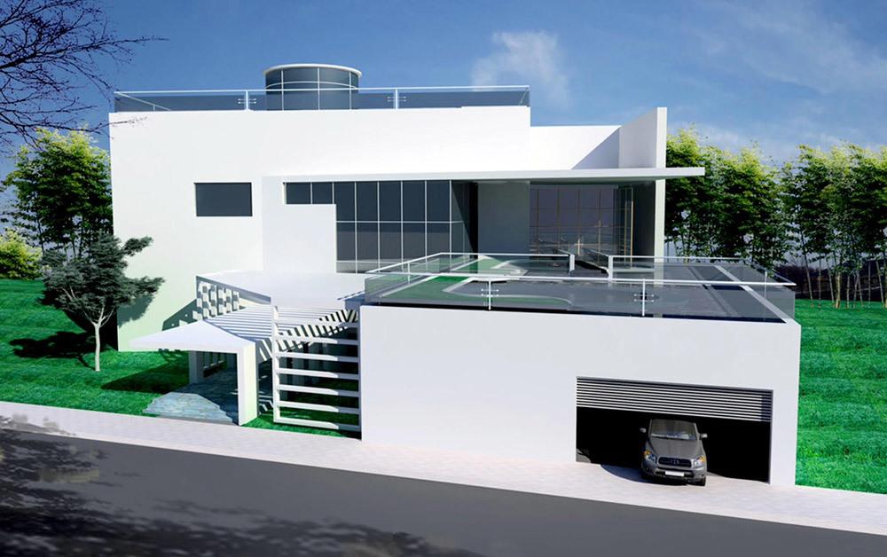 Nhà đẹp, KTS Nguyễn Vĩnh Tiến, Xây nhà