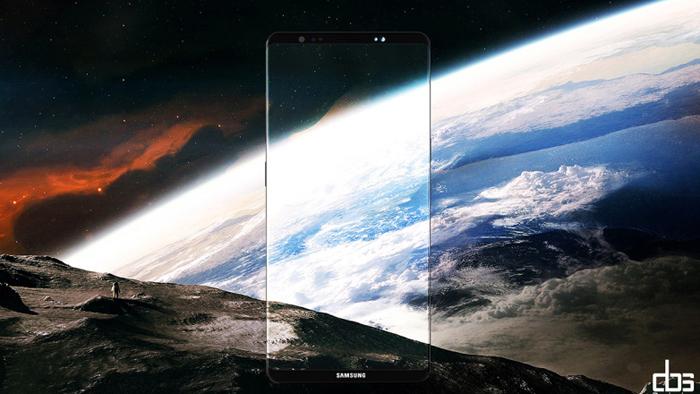 Galaxy Note 8 sẽ ra mắt với giao diện Android chưa từng thấy