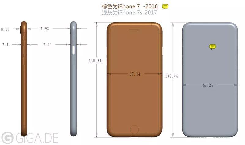iPhone 7s sẽ dày hơn iPhone 7 vì các tính năng mới?