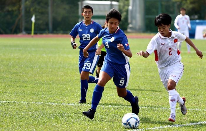 kết quả SEA games 29, nữ Việt Nam, nữ Philippines, bóng đá nữ SEA games