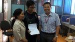 Trường ĐH Văn Lang trao học bổng cho cậu học trò 'gom rác'
