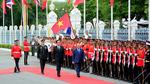 Lễ đón Thủ tướng Nguyễn Xuân Phúc tại thủ đô Bangkok